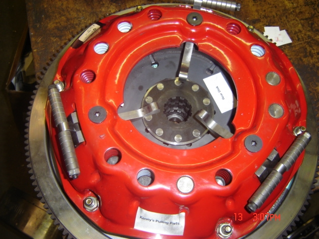 Tractor Puller Clutches : Disc dodge comp puller sfi click here